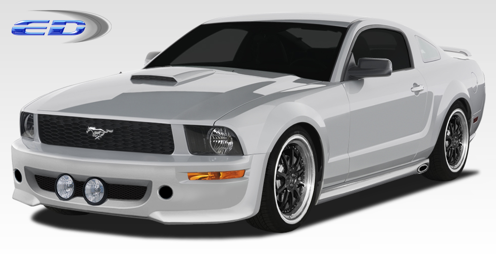 2005 Ford Mustang ALL - Polyurethane Bodykit Bodykit - 2005-2009 Ford Mustang Polyurethane Eleanor Body Kit - 4 Piece - Includes Eleanor Front Bumper