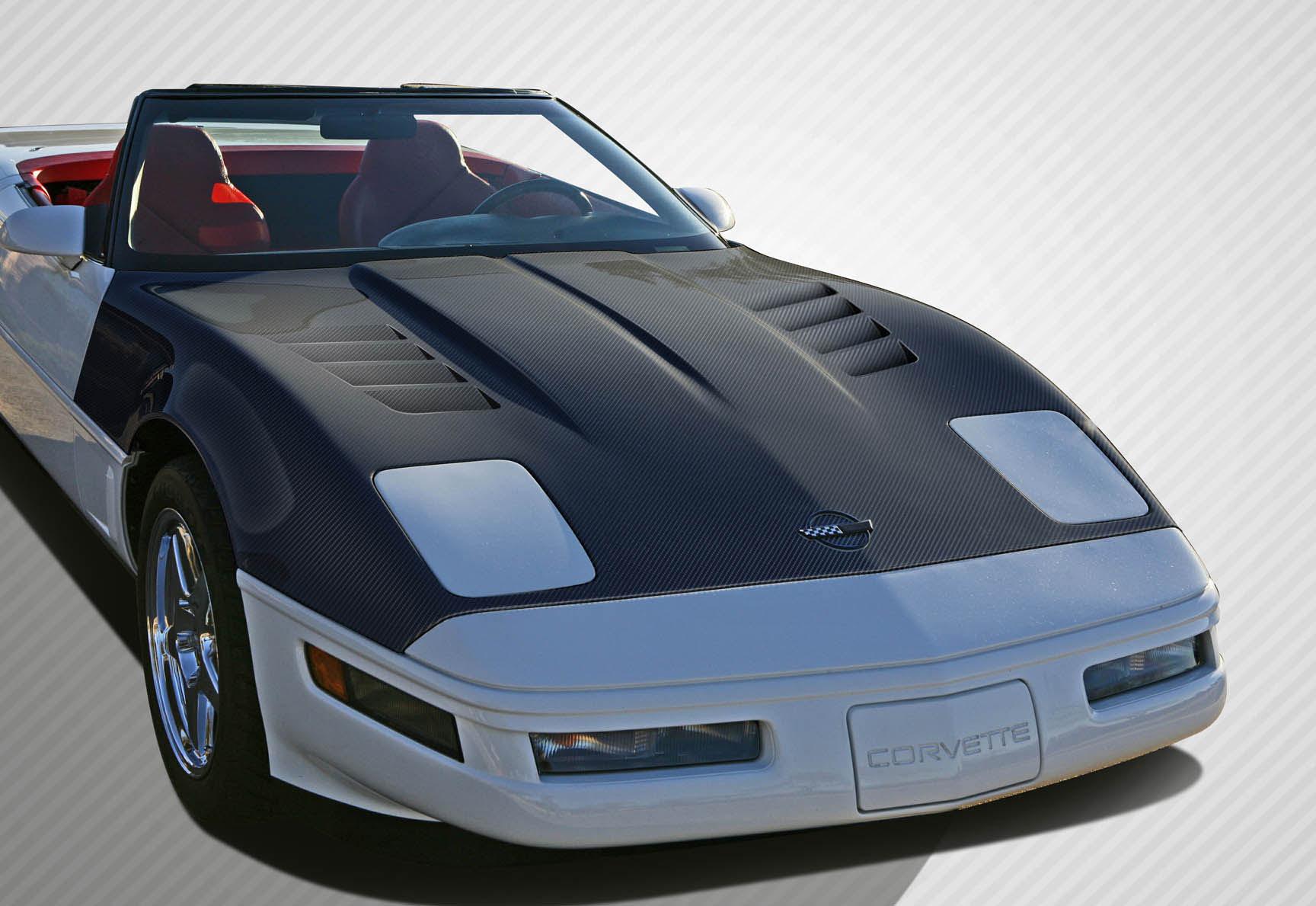 1984 1996 Chevrolet Corvette C4 Carbon Creations GT Concept Hood 1