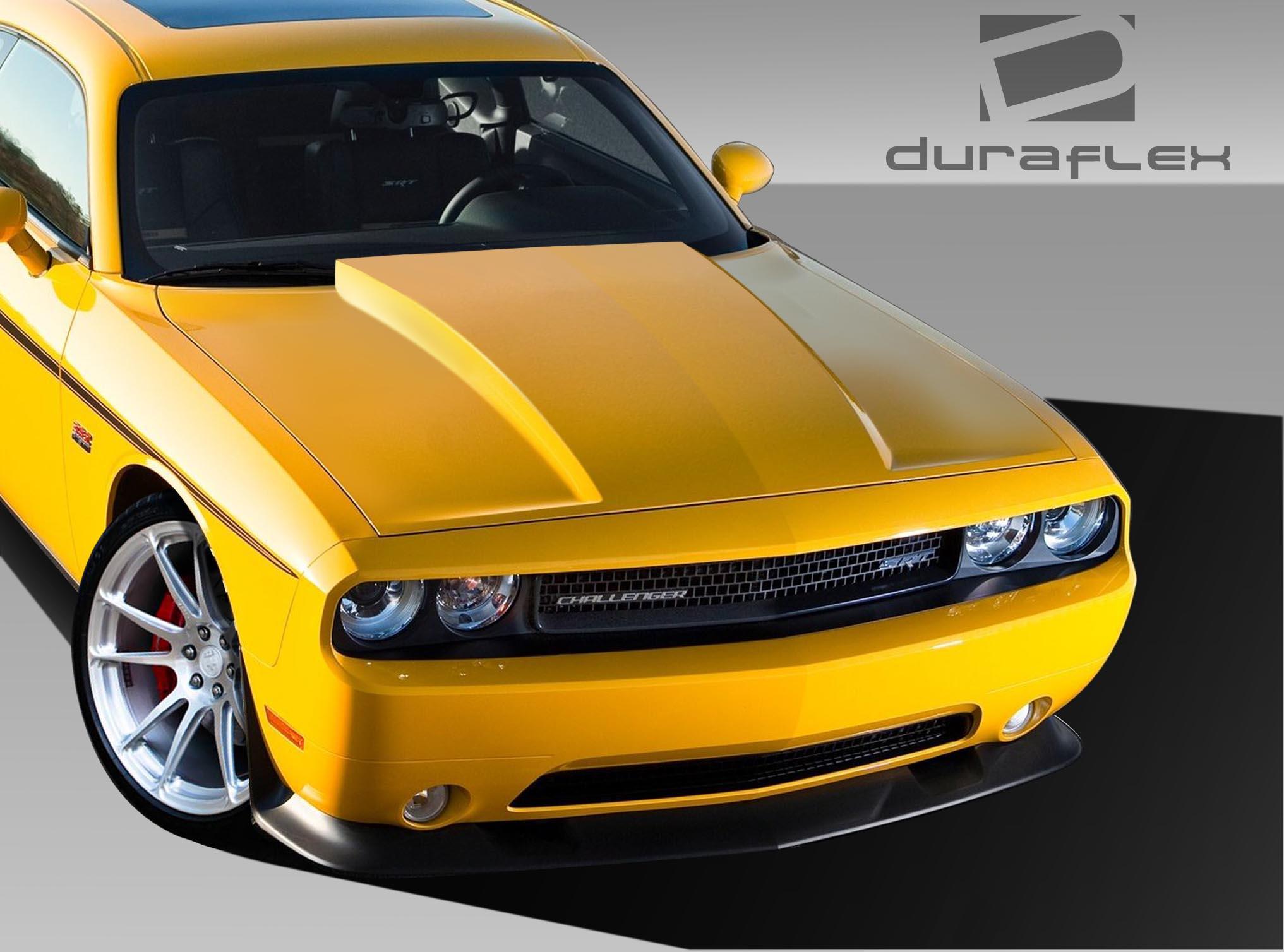 Duraflex Cowl Hood 1 Piece For 2008 2018 Dodge Challenger 6928366717261 Ebay