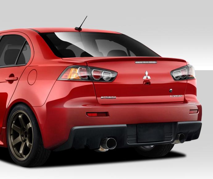 Mitsubishi Lancer Evolution X: 08-17 Mitsubishi Lancer EVO X V2 Duraflex Full Body Kit