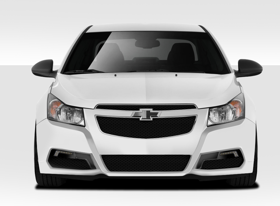 2011 2015 chevy cruze duraflex gt racing front bumper cover. Black Bedroom Furniture Sets. Home Design Ideas