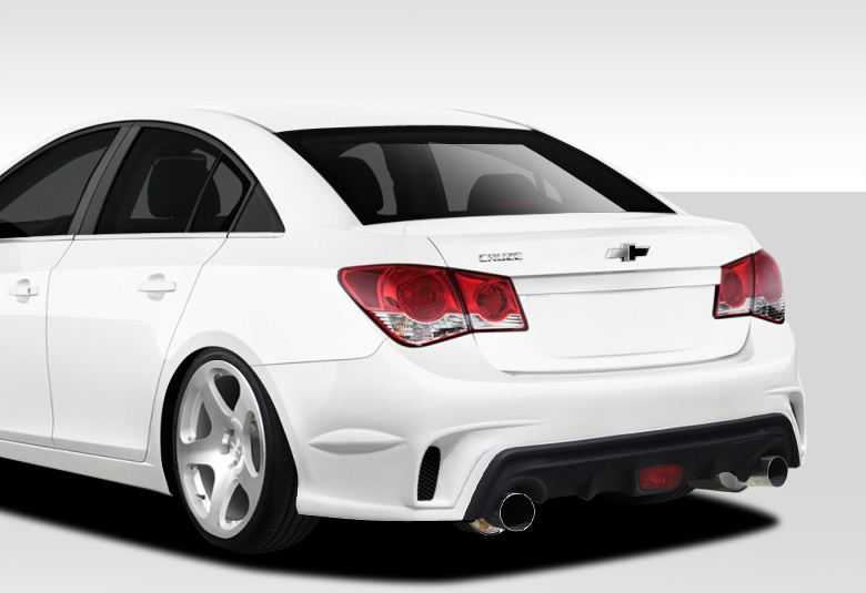 11-14 Chevy Cruze GT Racing Duraflex Rear Body Kit Bumper!!! | eBay