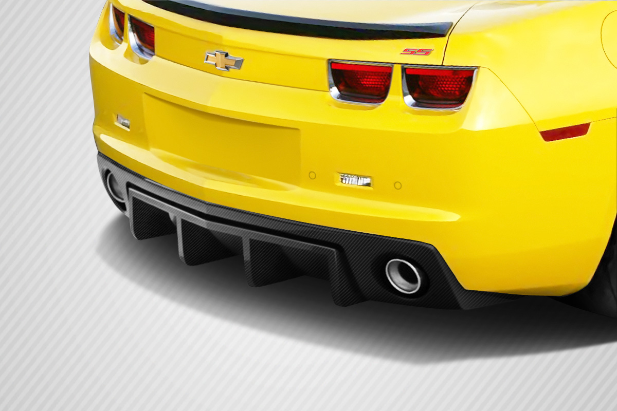 Rear Lip/Add On Bodykit for 2013 Chevrolet Camaro ALL - Chevrolet Camaro Carbon Creations H Sport Rear Diffuser - 1 Piece