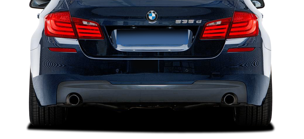 2015 BMW 5 Series 4DR Rear Bumper Bodykit - BMW 5 Series 535i F10 4DR Vaero M Sport Look Rear Bumper Cover ( with PDC ) - 2 Piece