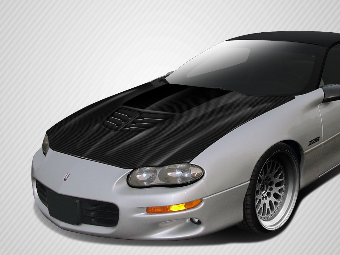 Hood Bodykit for 2002 Chevrolet Camaro ALL - Chevrolet Camaro Carbon Creations Stingray Z Hood- 1 Piece