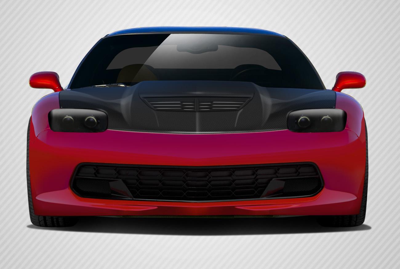2004 Chevrolet Corvette ALL Hood Bodykit - Chevrolet Corvette Carbon Creations Stingray Z Hood- 1 Piece