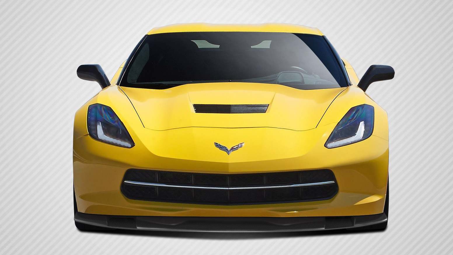 2015 Chevrolet Corvette ALL - Carbon Fiber Fibre Body Kit Bodykit - Chevrolet Corvette C7 Carbon Creations Thunderbolt Body Kit - 5 Piece - Includes T