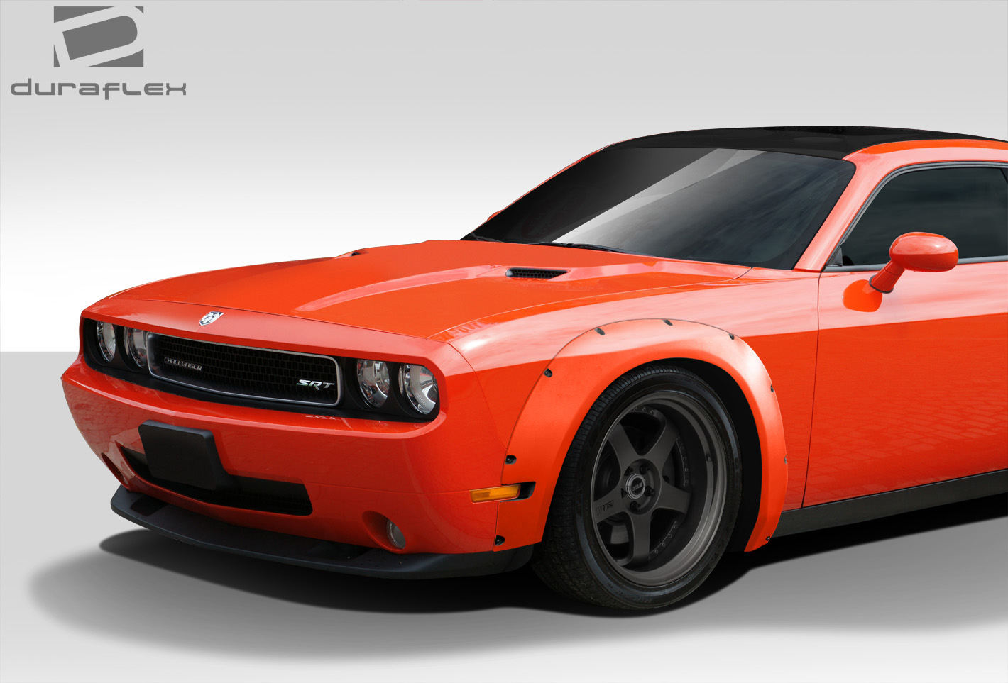 dodge challenger duraflex novara wide front fender flares body kit. Cars Review. Best American Auto & Cars Review