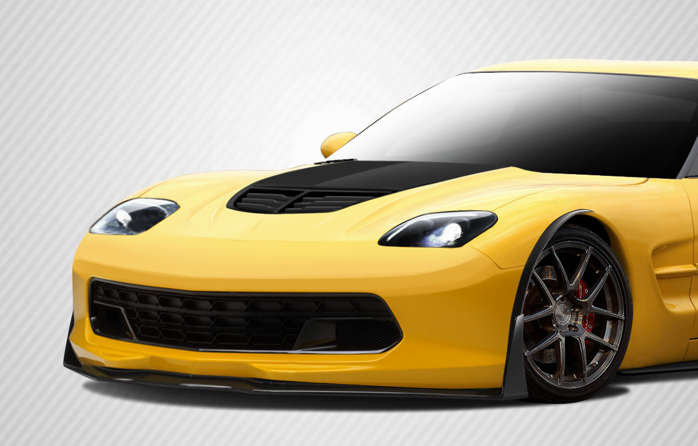 Front Lip/Add On Bodykit for 2004 Chevrolet Corvette ALL - Chevrolet Corvette Carbon Creations Stingray Z Front Lip Under Air Dam Spoiler - 1 Piece