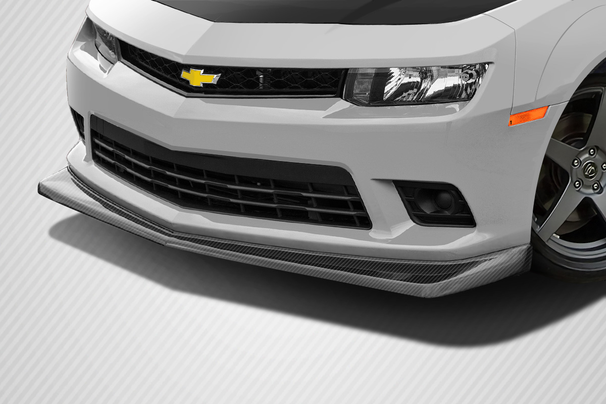 Front Lip/Add On Bodykit for 2016 Chevrolet Camaro ALL - Chevrolet Camaro Carbon Creations Z28 Look Front Lip Under Air Dam Spoiler ( non flare, will