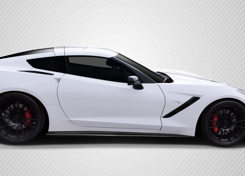 2015 Chevrolet Corvette ALL - Carbon Fiber Fibre Body Kit Bodykit - Chevrolet Corvette C7 Carbon Creations Apex Body Kit - 7 Piece - Includes Carbon C