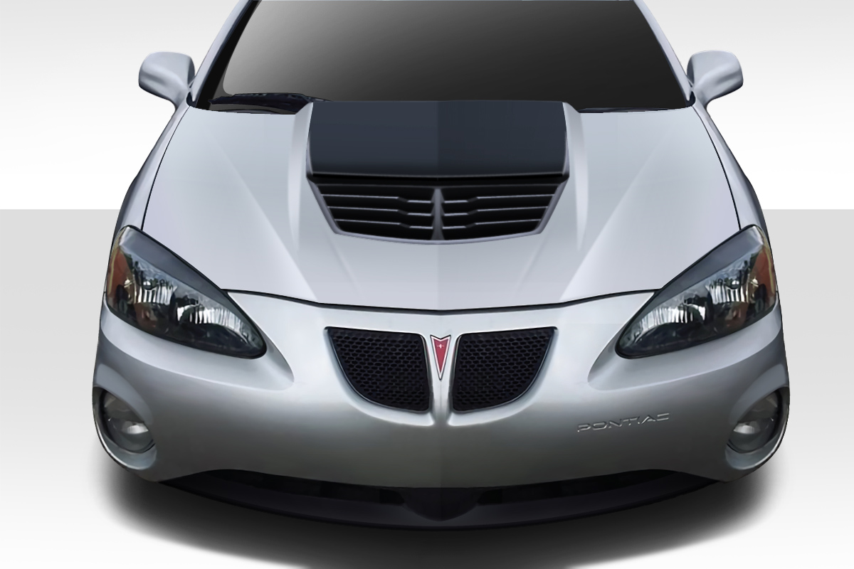 2004 2008 Pontiac Grand Prix Duraflex Stingray Z Hood 1 Piece Body Kit Ebay