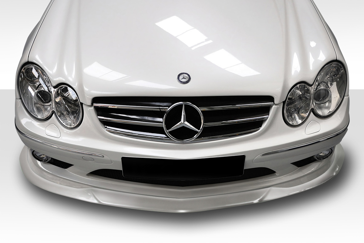 front lip add on body kit for 2005 mercedes clk mercedes clk55 w209 duraflex l sport front lip. Black Bedroom Furniture Sets. Home Design Ideas