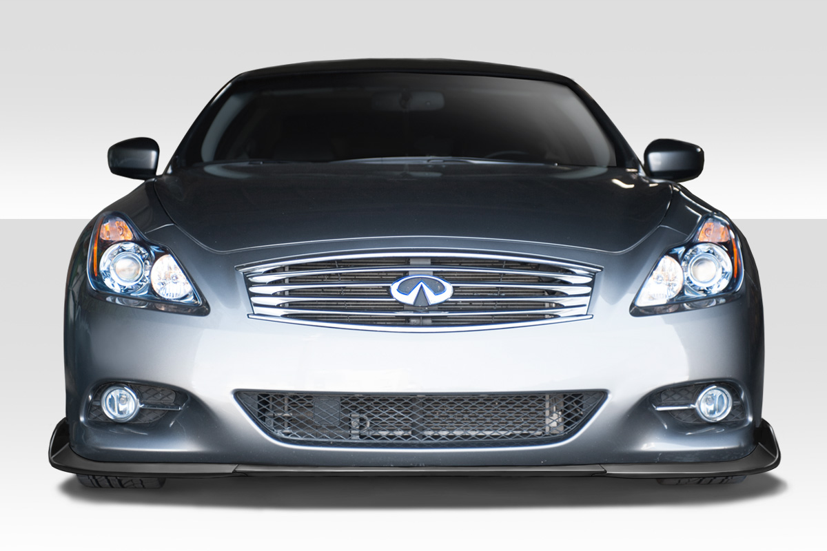 2010 infiniti g coupe fiberglass front lip add on body. Black Bedroom Furniture Sets. Home Design Ideas