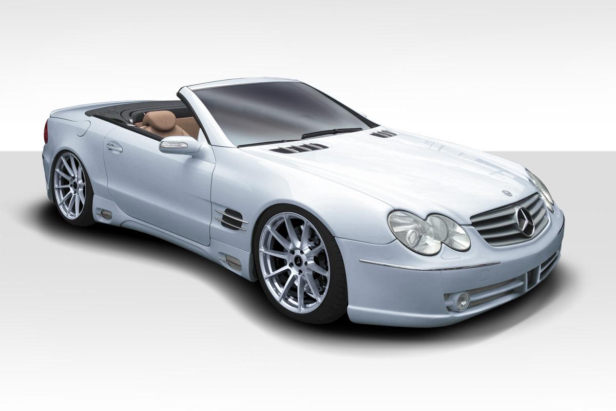 2003-2008 Mercedes SL Class R230 Duraflex LR-S F-1 Body Kit - 4 Piece