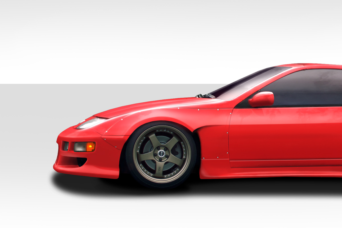 1990-1996 Nissan 300zx PM-Z Front Fender Flares - 4 Piece