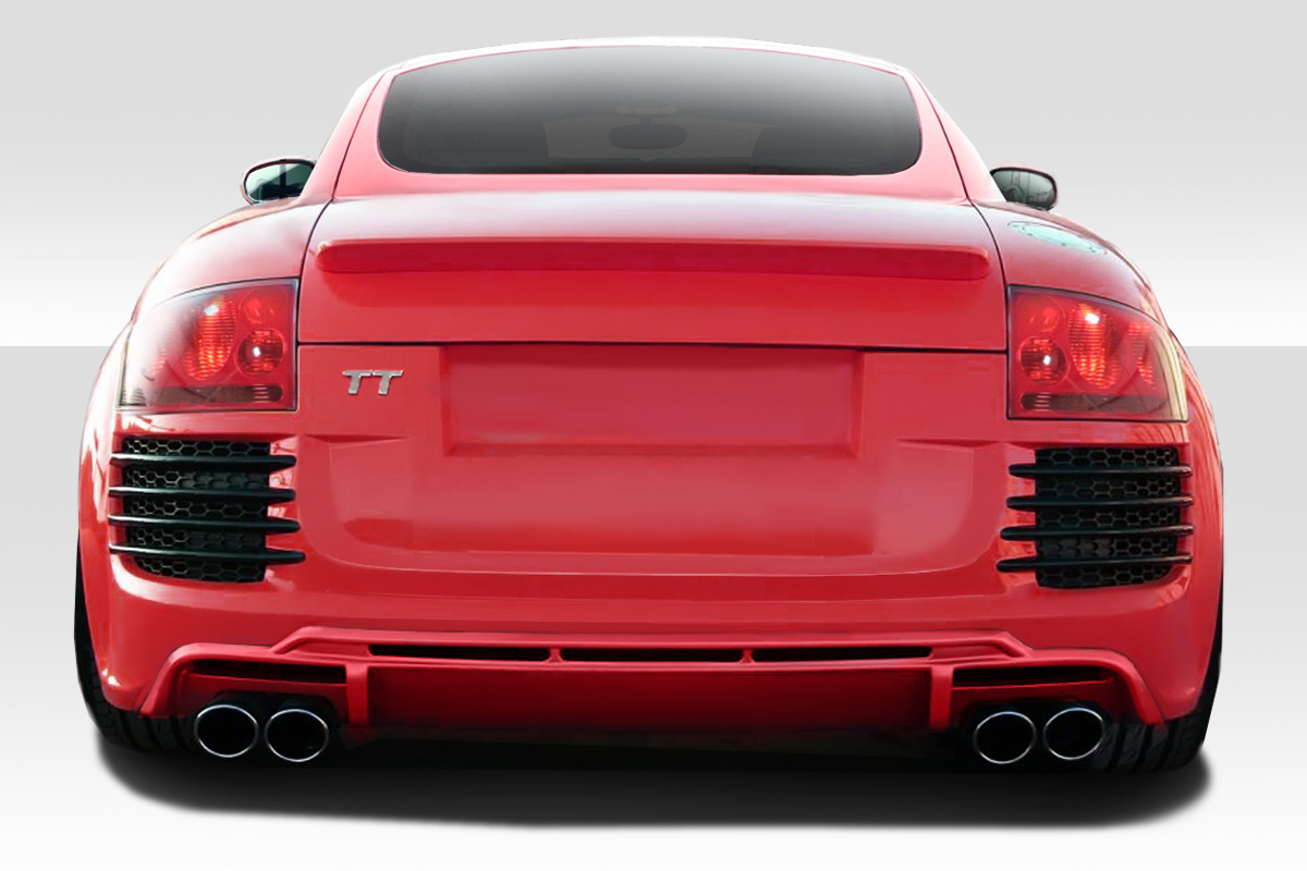 rear bumper body kit for 2002 audi tt audi tt duraflex r8 look rear bumper 1 piece xsv. Black Bedroom Furniture Sets. Home Design Ideas