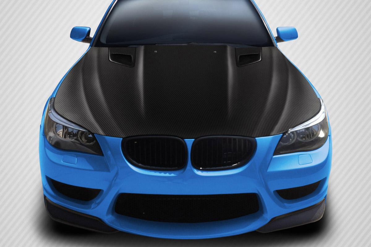 2004-2010 BMW 5 Series E60 Carbon Creations DriTech DTM Hood