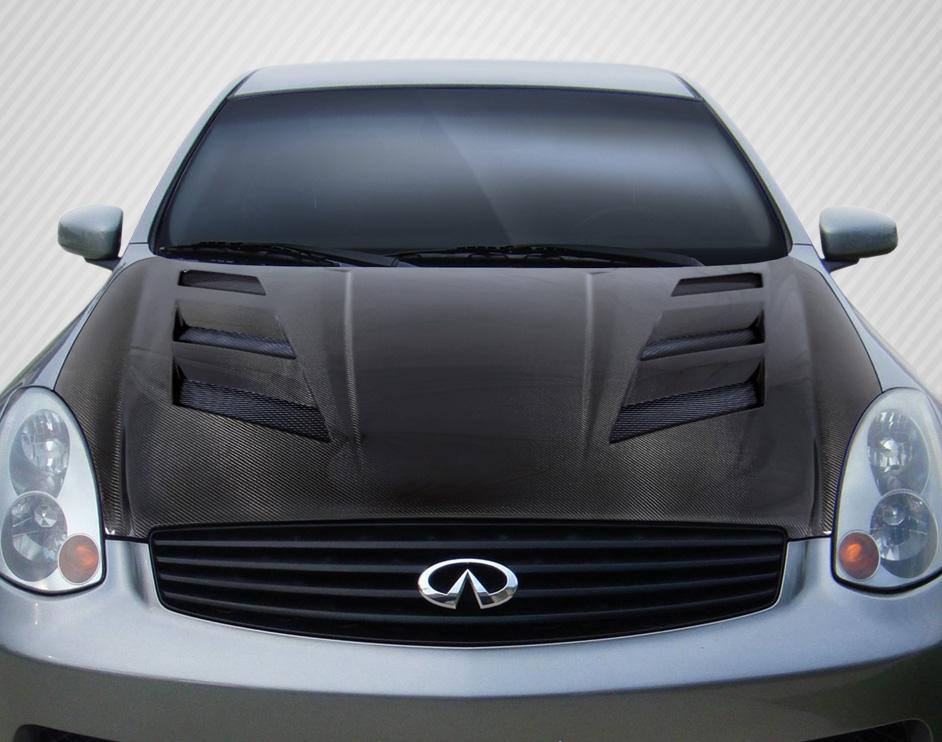 2003-2007 Infiniti G Coupe G35 Carbon Creations DriTech AM-S Hood