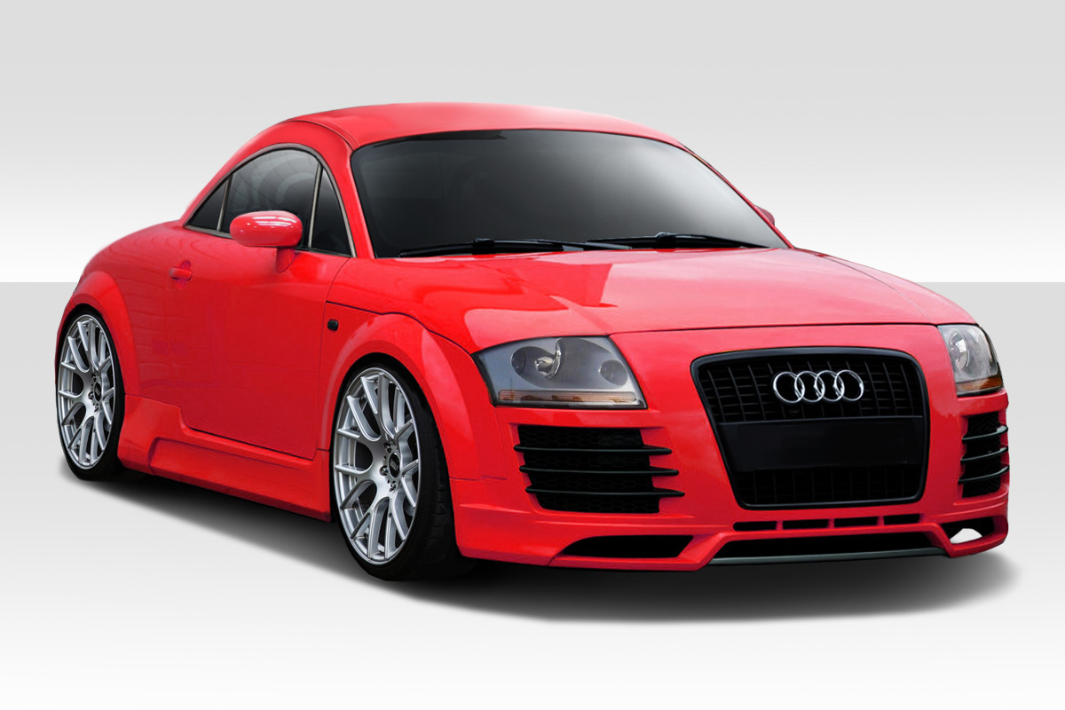 2000 2006 audi tt duraflex r8 look body kit 4 piece body kit ebay. Black Bedroom Furniture Sets. Home Design Ideas