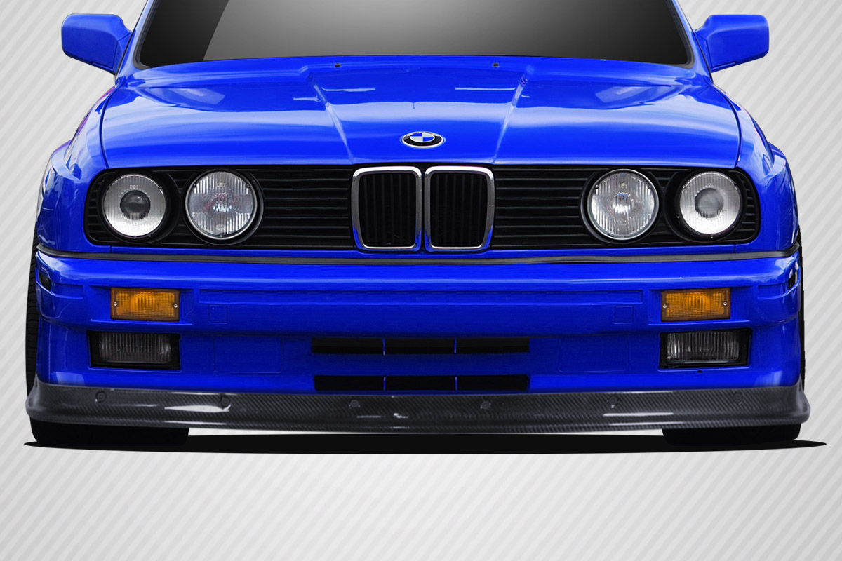 1984-1991 BMW 3 Series E30 Carbon Creations DriTech TKO Front Lip