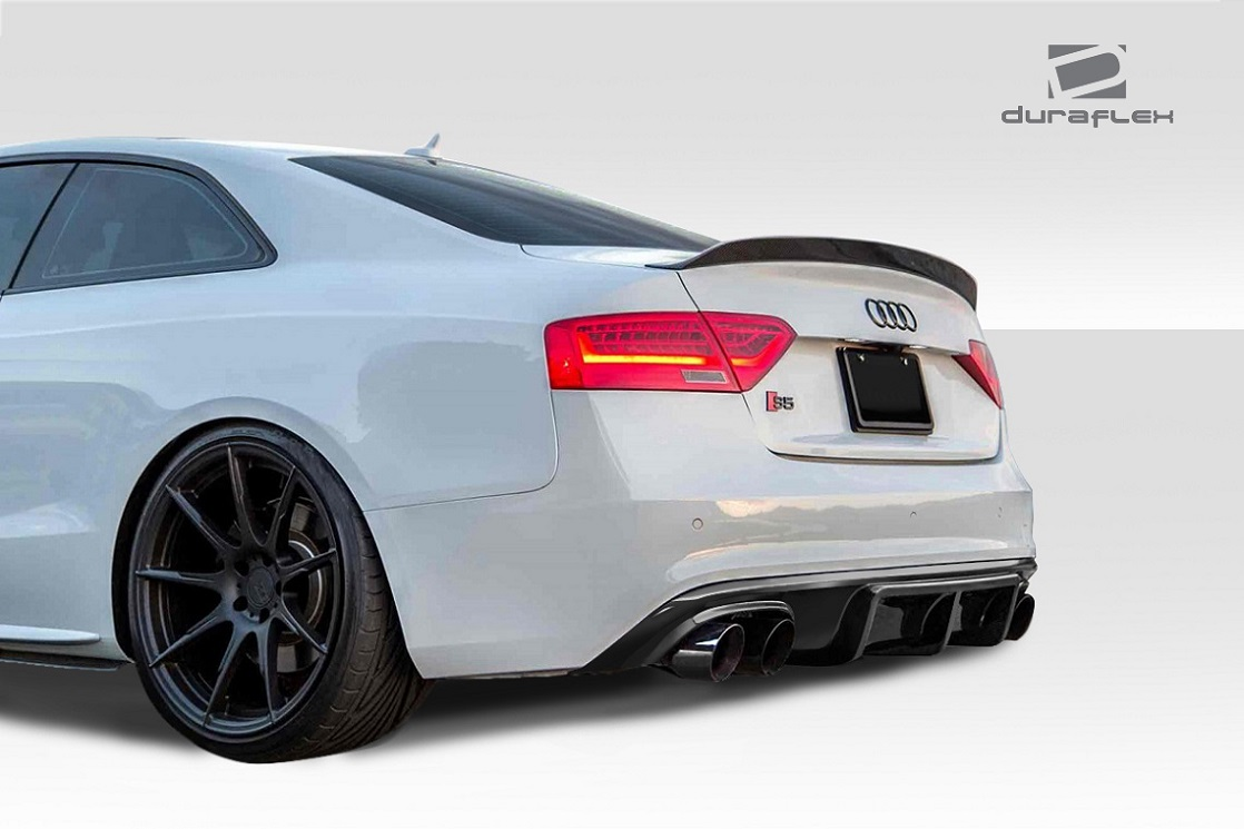 2012 2016 audi s5 duraflex sm g rear diffuser 1 piece xsv custom auto. Black Bedroom Furniture Sets. Home Design Ideas
