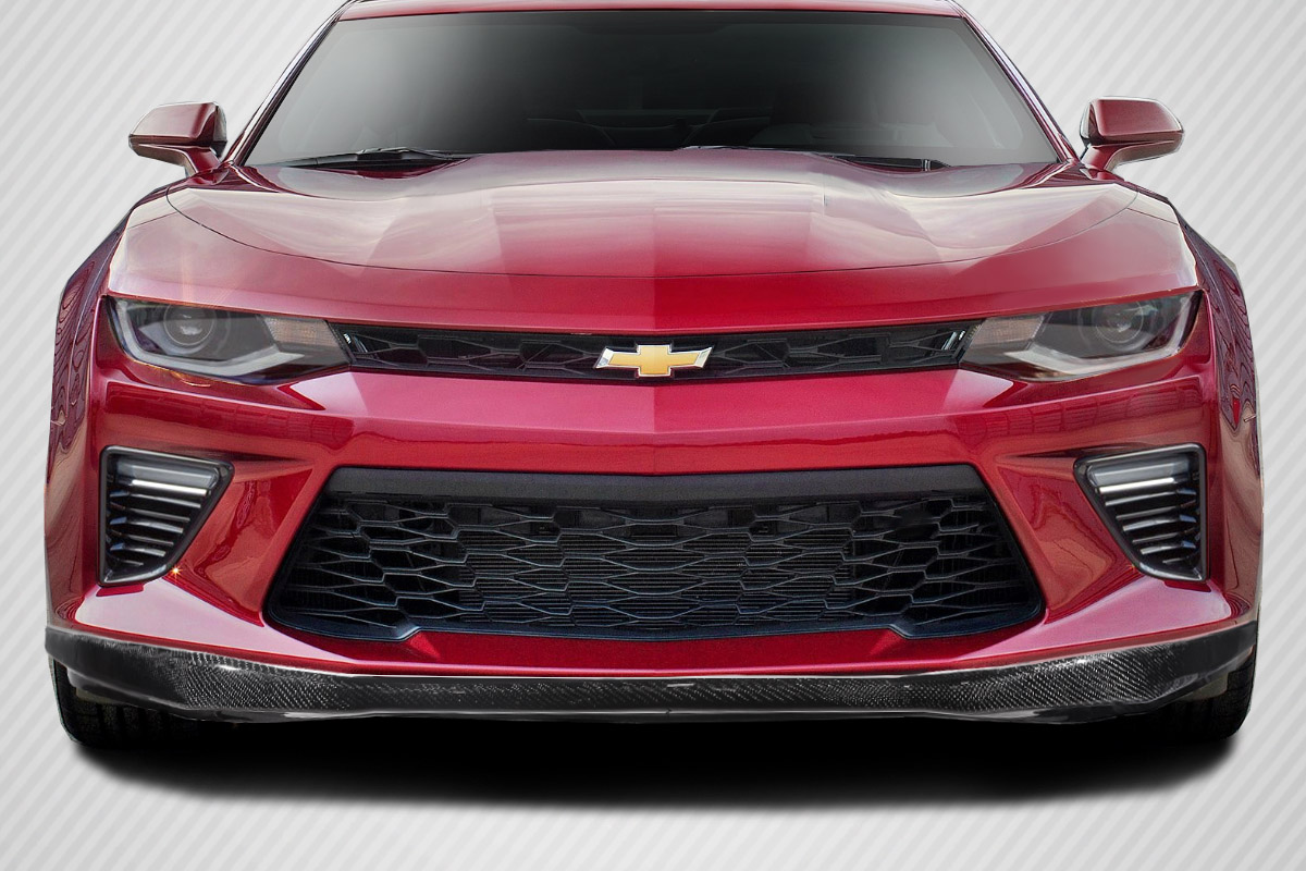front lip add on body kit for 2017 chevrolet camaro 0. Black Bedroom Furniture Sets. Home Design Ideas