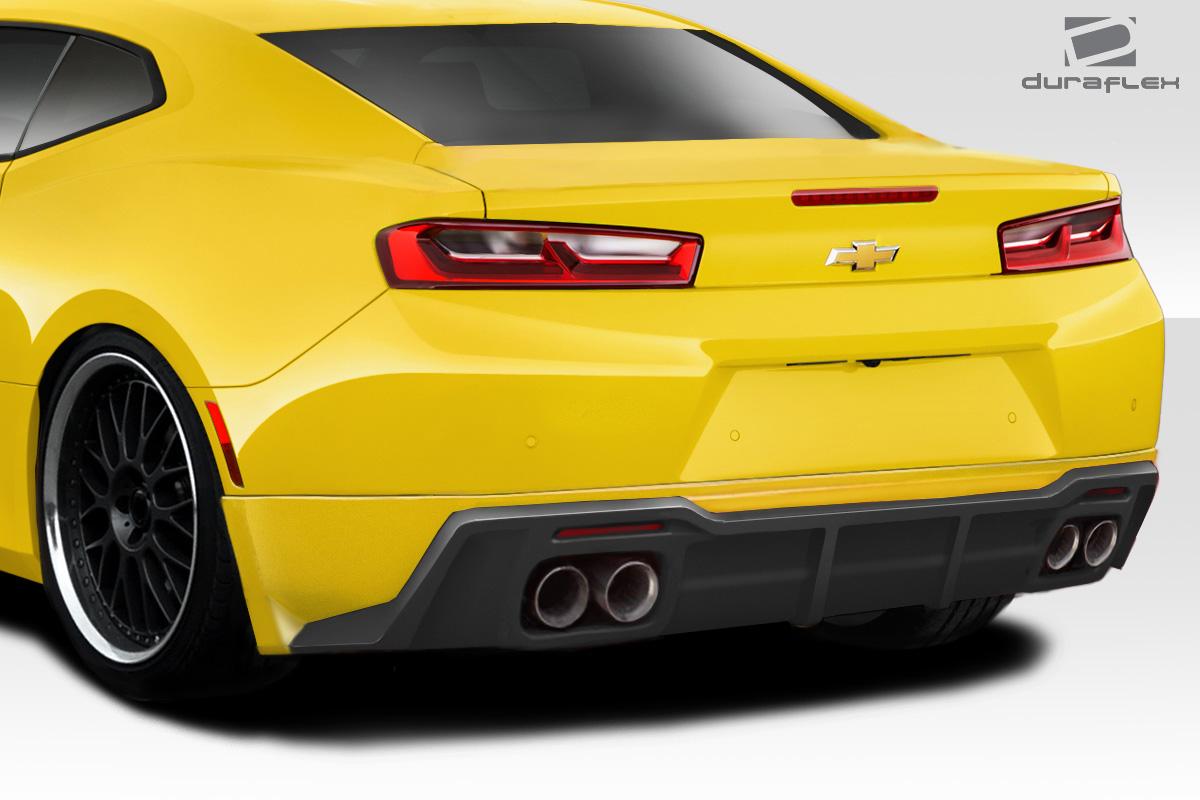 2016-2017 Chevrolet Camaro (Dual Exhaust) Duraflex Racer Rear Lip