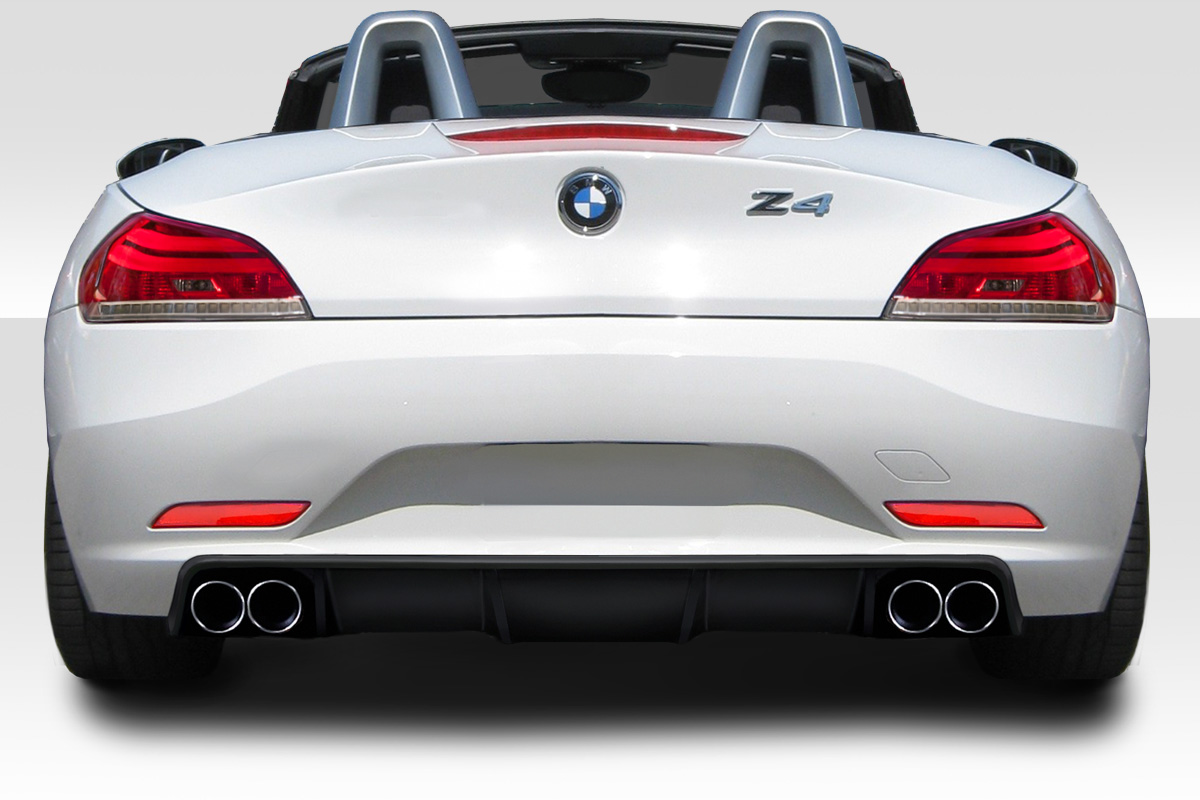 2009 2013 bmw z4 e89 duraflex 3ds rear diffuser 1 piece. Black Bedroom Furniture Sets. Home Design Ideas
