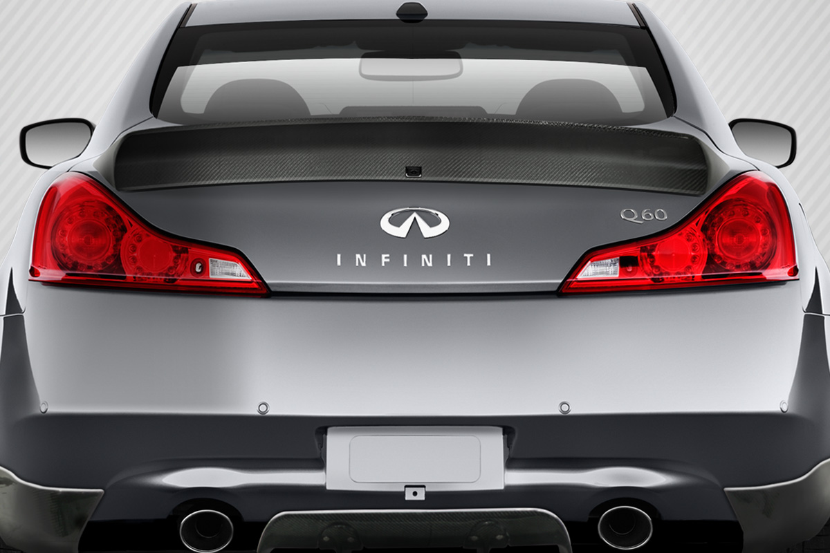 08 15 Fits Infiniti G37 Lbw Carbon Fiber Creations Body Kit Wing Back Bumper Categories