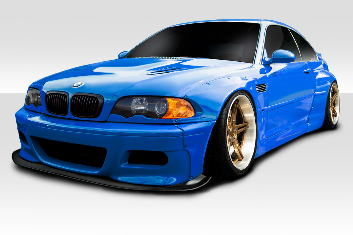 2001-2006 BMW M3 E46 Duraflex Circuit Wide Body Kit - 8 Piece