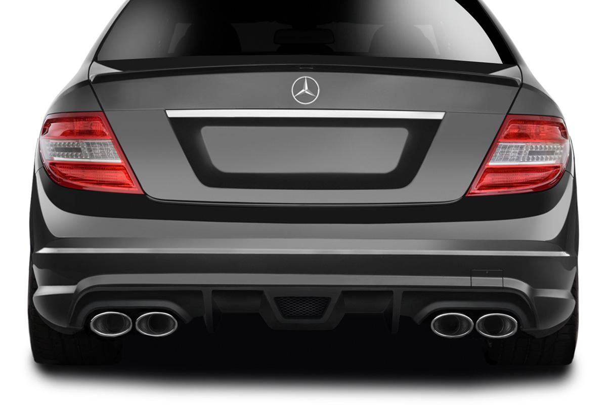 2008-2011 Mercedes Benz C63 / C Class Sport Models AF-1 Rear Diffuser