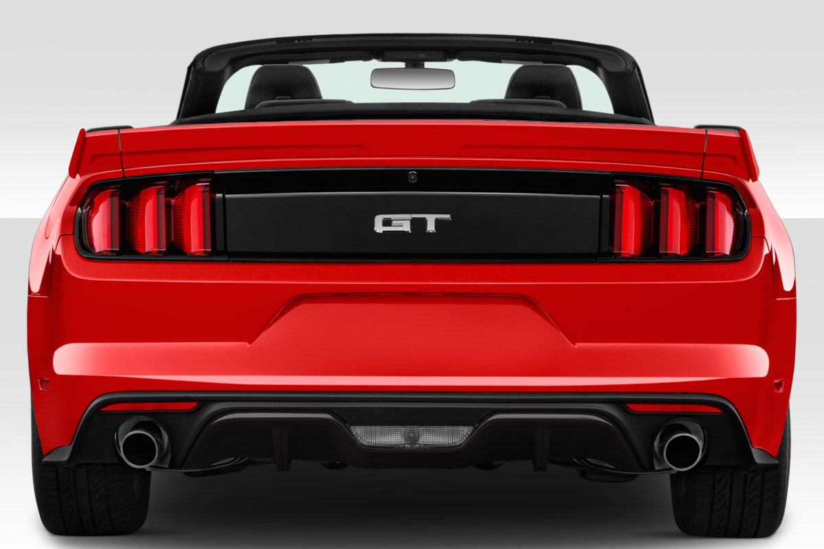 2017 ford mustang 0 fiberglass wing spoiler body kit 2015 2018 ford mustang coupe