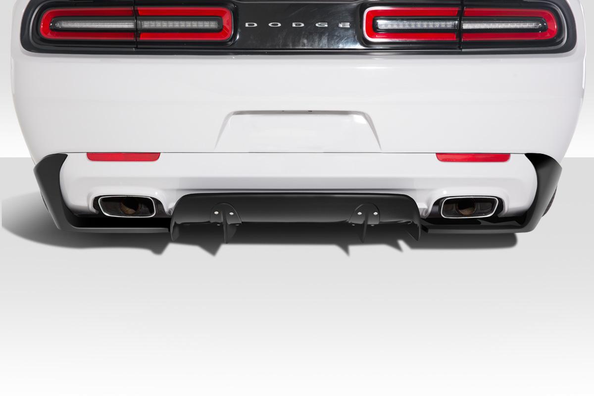 15 18 Dodge Challenger Circuit Duraflex Rear Bumper Diffuser Body Kit 113897 Ebay