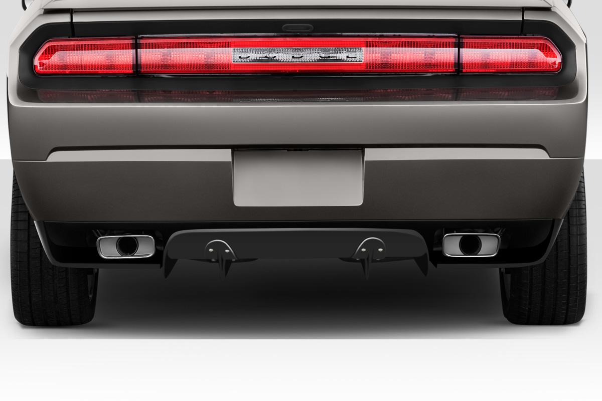 08 14 Dodge Challenger Circuit Duraflex Rear Bumper Diffuser Body Kit 113981 Ebay
