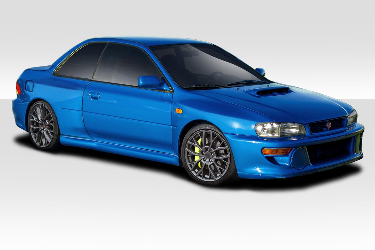 Details about 93-01 Subaru Impreza 22B Look Duraflex Wide Body Kit  Fenders!!! 114128