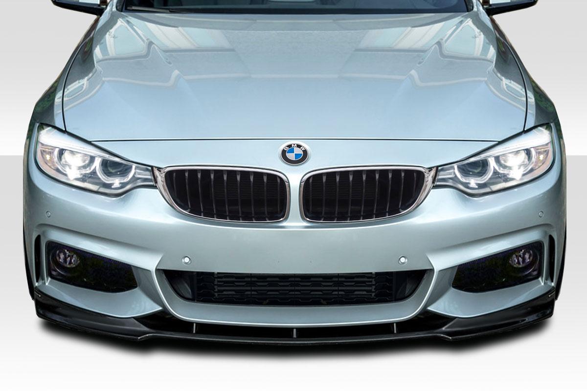 2014-2018 BMW 4 Series M-Sport M-Tech F32 AF-1 Front Add On Lip Under Spoiler ( CFP ) - 1 Piece
