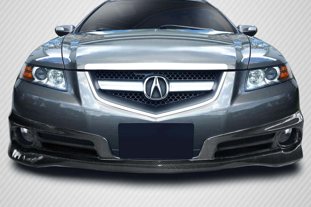 07 08 Acura Tl Type S Carbon Fiber Creations Front Bumper Lip Body Kit 115427 Ebay