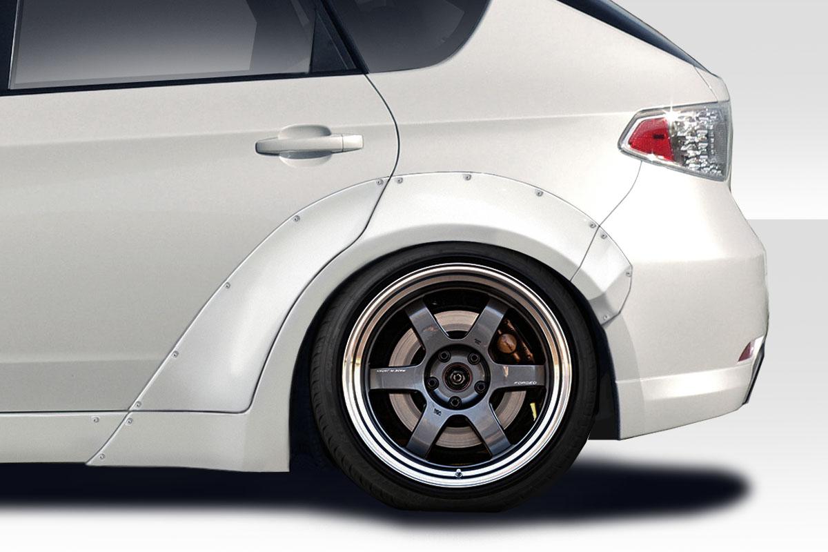 08 11 Fits Subaru Impreza 4dr 5dr Msr Duraflex Rear Fender Flares 115507 Ebay