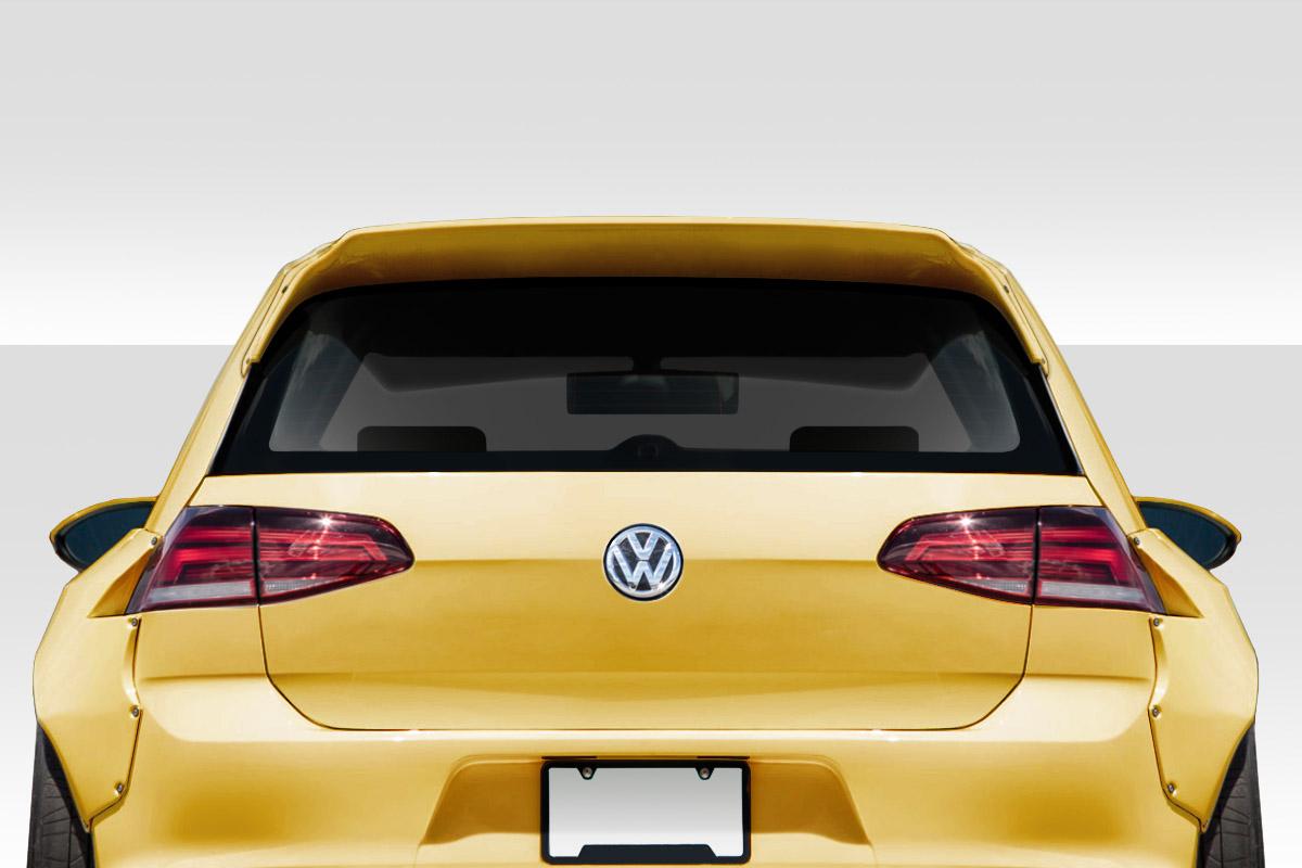 15 19 Volkswagen Golf Tko Rbs Duraflex Body Kit Roof Wing Spoiler 115711 Ebay